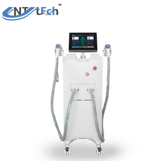 Diode laser with 2 handpieces