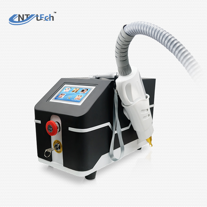 Portable q switched nd yag laser tattoo removal machine